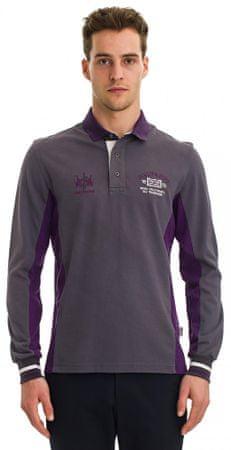 Galvanni moška polo majica Grafton Dimgray, XXL, vijolična