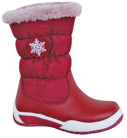Protetika dívčí sněhule Snow 27 červená