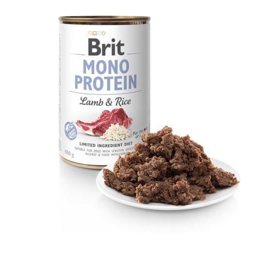 Brit Mono Protein Lamb & Brown Rice 6x400g