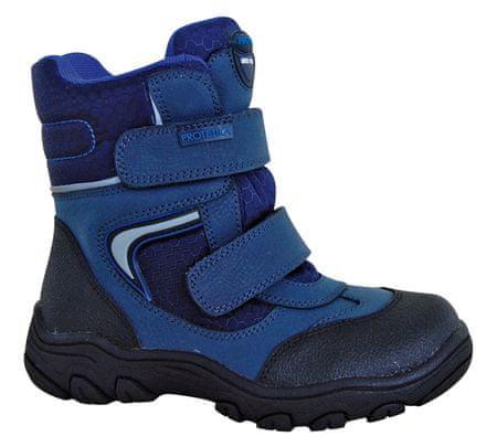 Protetika chlapecké zimní boty s membránou Torsten 30 modrá