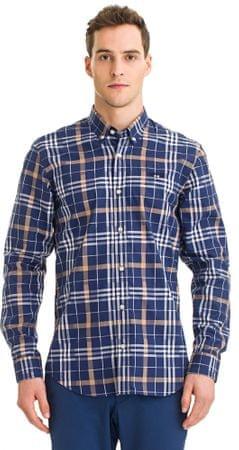 Galvanni pánská košile Hannsell M tmavo modrá