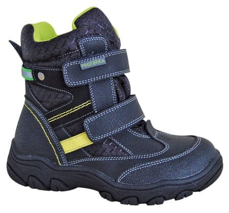 Protetika chlapecké zimní boty s membránou Polar 27 čierna
