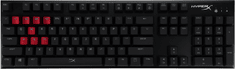 Kingston Alloy FPS Red mechanikus gamer billentyűzet, US Cherry MX Blue (HX-KB1RD1-NA/A2)