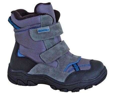 Protetika chłopięce buty zimowe za kostkę Strong, 28, szare