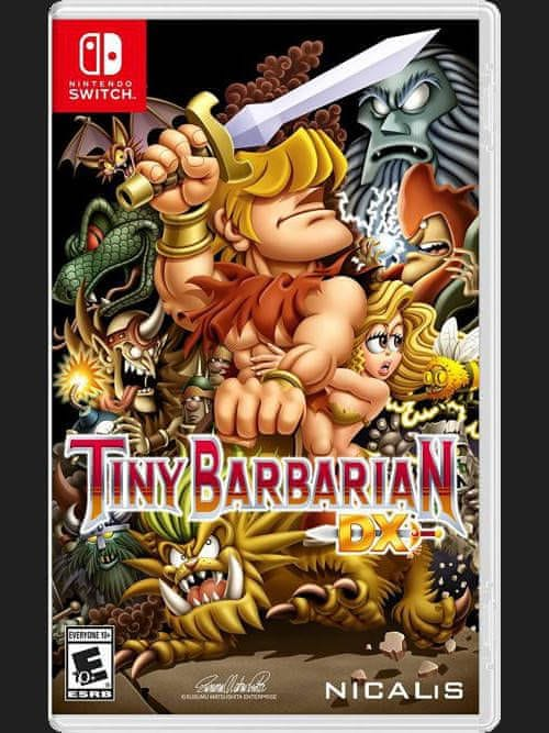 Tiny Barbarian DX - Launch Edition (SWITCH)