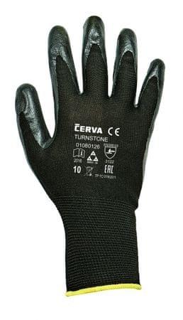 Červa TURNSTONE rukavice máčené v nitrilu 7