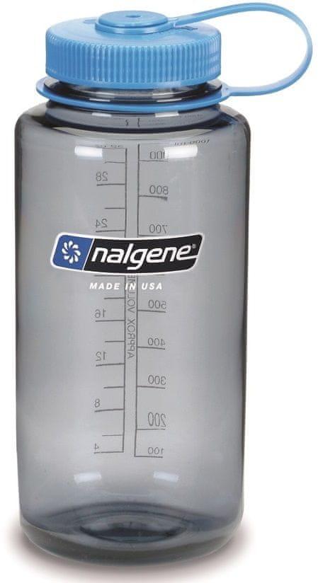 Nalgene Wide Mouth 1000 ml Gray