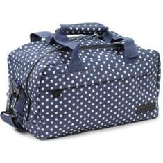 Member's Cestovní taška 14L SB-0043 modrá/bílá