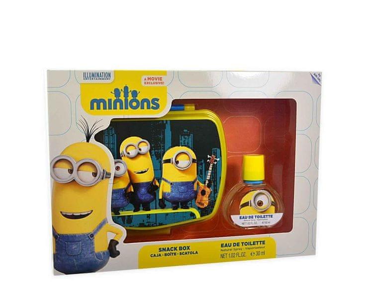 EP Line Mimoni (Minions) - EDT 30 ml + svačinový box pro děti