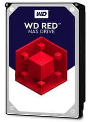 "WD trdi disk RED 8 TB, 8,89 cm (3,5""), SATA3 6 Gb/s, 5400, 256 MB"