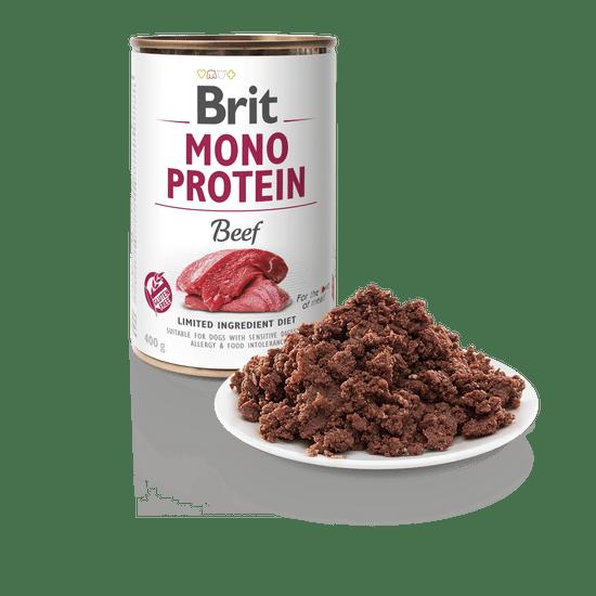 Brit Mono Protein Beef 6x400g