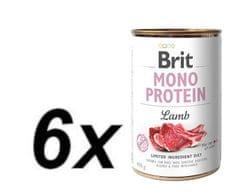 Brit Mono Protein Lamb 6x400g