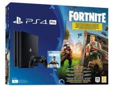 Sony igralna konzola PlayStation 4 Pro B + VCH Fortnite, 1 TB, črna