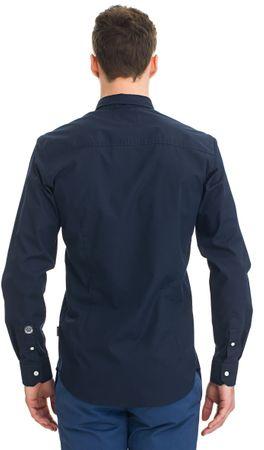 ef9c633bab8 Galvanni Pánská košile tmavě modrá M - zánovní