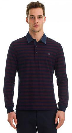 Galvanni moška polo majica Labor, M, rdeča