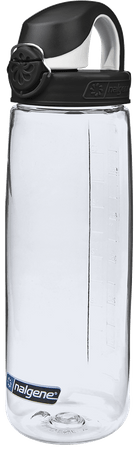 Nalgene enica OTF Clear with Black Cap,  650 ml, črna