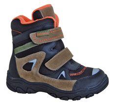 Protetika buty zimowe za kostkę chłopięce Zan