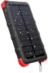Outxe Savage IP67 Voděodolná solární powerbank 10 000 mAh (EU Blister) PCB10000WS