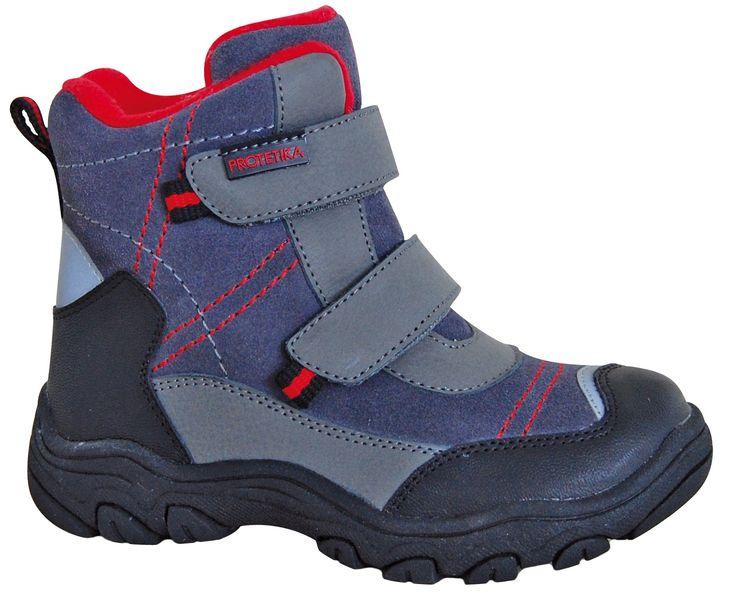 Protetika chlapecké zimní boty Hant 32 šedá/modrá