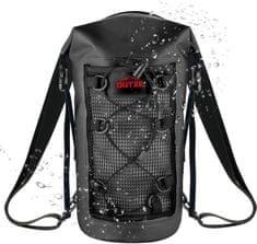 Outxe IPX7 100% Voděodolný TPU 10L batoh, black (EU Blister) 2439334