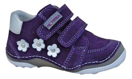 648933de2a8 Protetika dívčí kotníkové boty barefoot Maty 19 fialová
