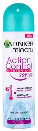 Garnier dezodorant Mineral Thermic 72h Women, 150 ml