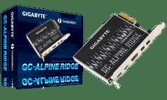 Gigabyte Thunderbolt 3 kartica GC-ALPINE RIDGE, PCIe, 40 Gb/s