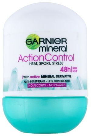 Garnier dezodorant Mineral Action Control Roll-on, 50ml