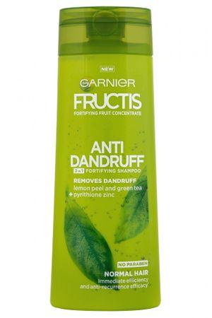 Garnier šampon z balzamom proti prhljaju Fructis Anti Dandruff 2v1, 400 ml