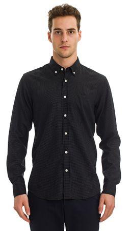 Galvanni pánská košile Namur M čierna