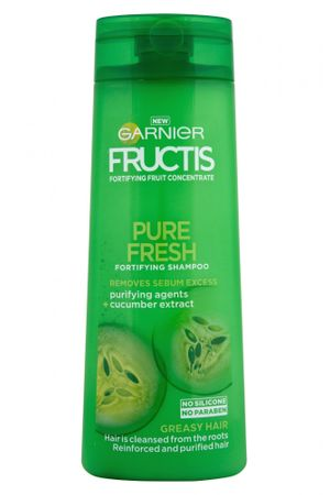 Garnier šampon za mastne lase Fructis Pure Fresh, 400 ml