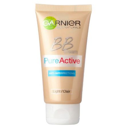 Garnier Skin Naturals Pure Active BB krema, Light, 50 ml