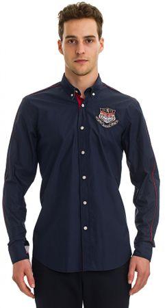 Galvanni koszula męska Pinetop M ciemny niebieski