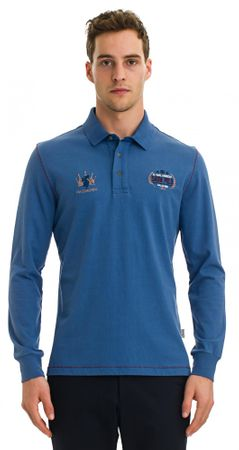 Galvanni moška polo majica Redcliffe, M, modra