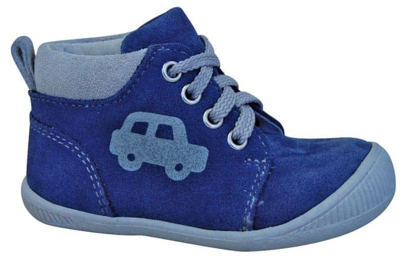 Protetika chlapecké kotníkové boty Baby 24 šedá modrá 8a25183c06