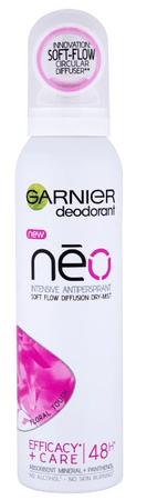 Garnier antiperspirant v razpršilu Mineral NEO Floral Touch, 150 ml
