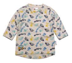 Gelati chlapčenské tričko Dinosaur 62 šedá
