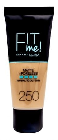 Maybelline tekoči puder Fit Me Matte, 250 Sun Beige