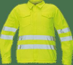 Cerva Reflexná pracovná bunda Koros pánska žltá 54