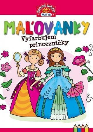autor neuvedený: Maľovanky – Vyfarbujem princezničky