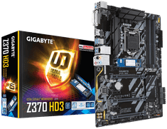 Gigabyte osnovna plošča Z370 HD3-OP, DDR4, USB3.1 Gen1, LGA1151, ATX + Intel Optane 32GB