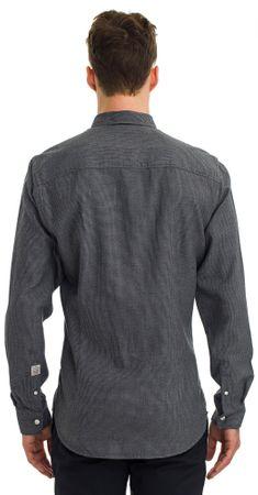 95d69bfd206 Galvanni pánská košile Thatcher M tmavě šedá - Alternativy