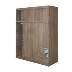 Skříň s posuvnými dveřmi 53000, dub sonoma