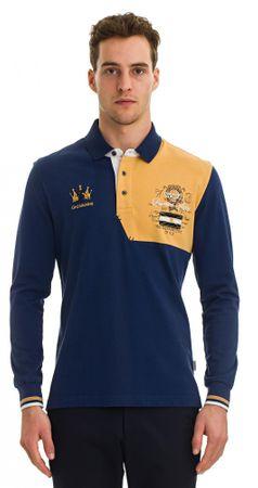 Galvanni moška polo majica Wollogong, XXL, temno modra