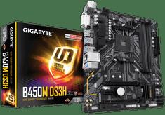 Gigabyte osnovna plošča B450M DS3H, DDR4, USB3.1Gen1, AM4, mATX