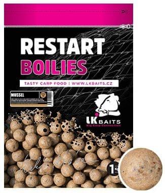 Lk Baits Boilie ReStart Mussel 1 kg, 18 mm