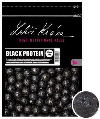 Lk Baits Boilie Lukáš Krása Black Protein 1 kg, 30 mm