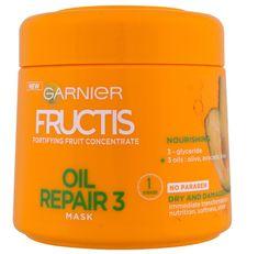 Garnier maska za suhu i oštećenu kosu Fructis Oil Repair 3, 300 ml