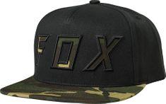 FOX pánská černá snapback kšiltovka Posessed