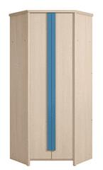 CAPS, skříň SZFN2D, dub sv. belluno/modrá